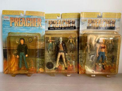 Preacher 3 Piece PVC Figurine DC Vertigo