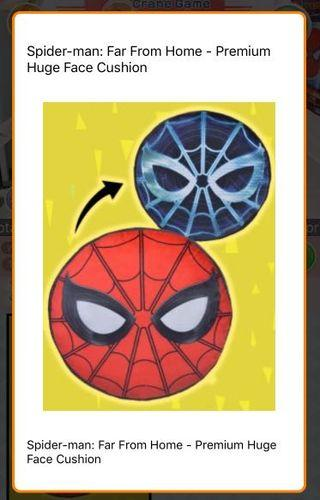 [LIMITED EDITION] Spider-Man Far From Home Face Cushion (Toreba)