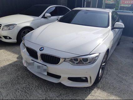 2014年  BMW  428I  SportLine  2.0L. 輕鬆貸回家