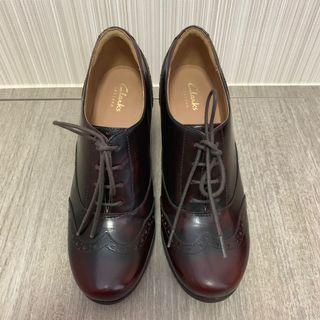 Clarks Oxford Heels 牛津鞋 牛津高跟鞋