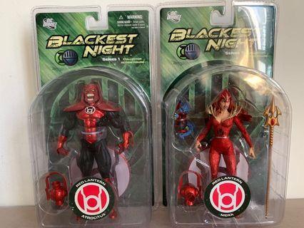 DC Comics Green Lantern Blackest Night