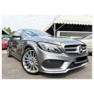 2018 Mercedes Benz C350 2.0 E AMG (A) [UNDER WARRANTY][11,000KM ONLY]