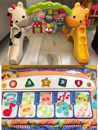 baby gym+嬰兒琴