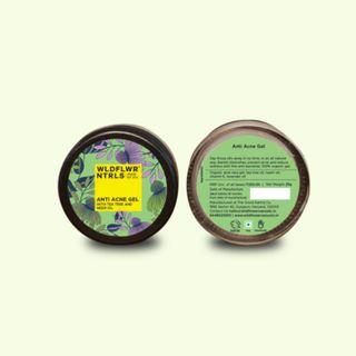 Anti-Acne Gel With Tea Tree & Neem Oil (25g)