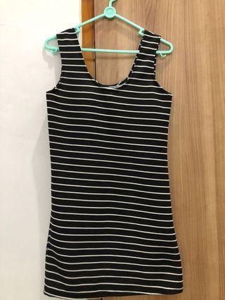 COTTON ON Mididress Mini Dress stripped