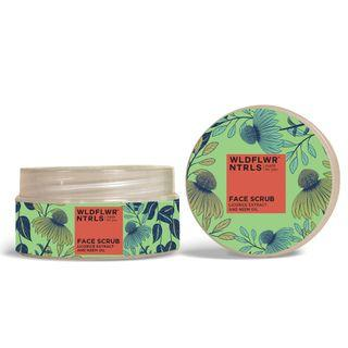 Clarifying & Toning Face Scrub with Licorice Extract & Neem Oil (80g)