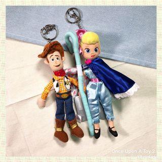 [現貨]Toy Story 牧羊女寶貝/胡迪 匙扣公仔