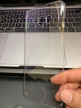 Samsung Galaxy S8+ transparent hard case