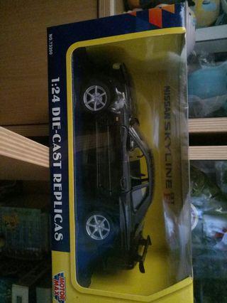 Diecast Nissan Skyline GTR