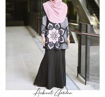 Olivia kurung Rina Salleh clothing