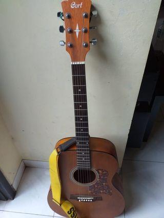 Gitar Akustik CORT..suarany garing mantap mulus