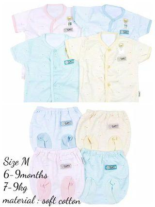 6-9 months Fluffy Baby Clothes day wear set