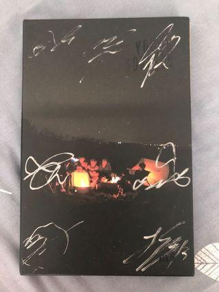 🚚 wts: bts young forever (night ver.) signed