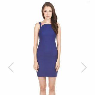 TCL Lylia Contrast Dress in Cobalt XS