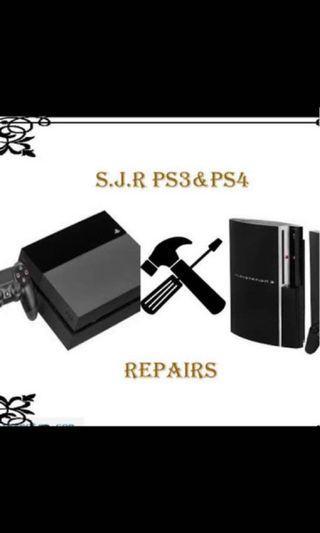 SJR Ps3&ps4 repairs