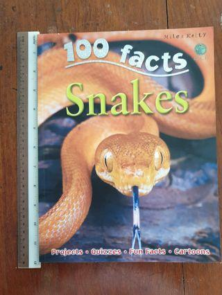 🚚 100 facts series: Snakes