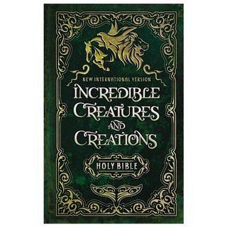 [PO] ✝️ NIV Incredible Creatures and Creations Holy Bible