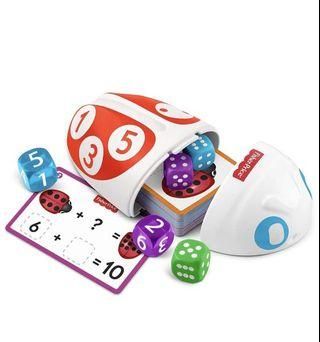 *Instock*  Fisher-Price Think & Learn Roll & Count Math Bug