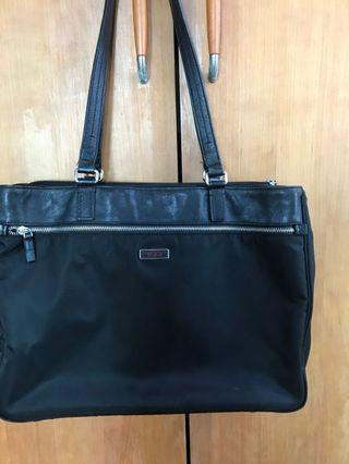 🚚 Authentic tumi shoulder bag. 40 cm across by 30 cm. Nylon . Sell it cheap cos have many tumi bags