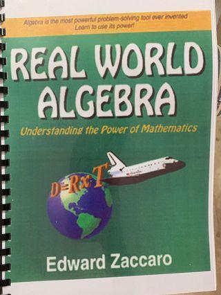 🚚 Real world algebra