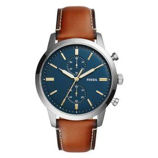 Fossil Townsman Blue Dial Men's Chronograph Watch FS5279
