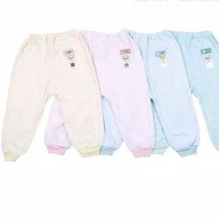 2-3years Fluffy Baby Striped Long Pants / toddler bottom / toddler pant
