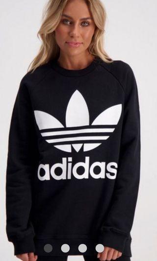 Adidas oversized jumper