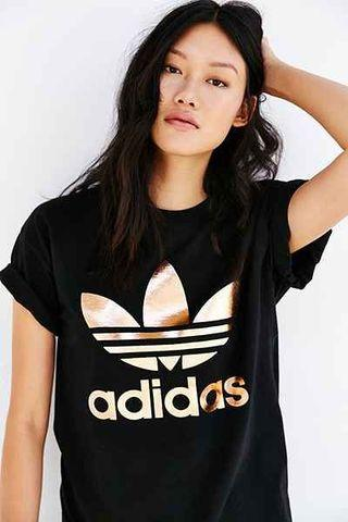 100% Authentic Adidas Women's Big Trefoil Tee (New with Tags)
