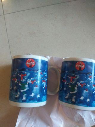 coka  cola  collectible cup