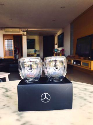Mercedes Benz Double Layer Expresso glasses