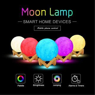 Item#171 - Smart LED Moon Light Lamp with Stand