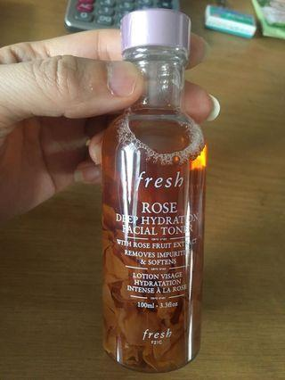 Fresh Rose Hydration Facial Toner 100ml