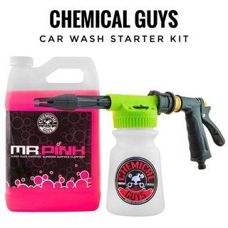 ⚡️Car Wash Starter Kit Chemical Guys Detailing Grooming