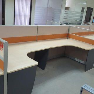 Office Workstation  L Or U shape Design From $150 Call Now 90899511