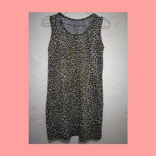 Leopard Mididress