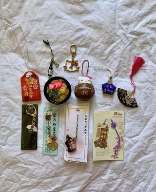 Misc Japanese/Singaporean Trinkets