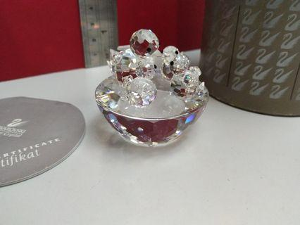 Swarovski Crystal Bird 's Nest