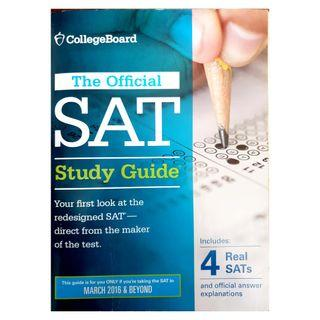 The official SAT study guide by college board