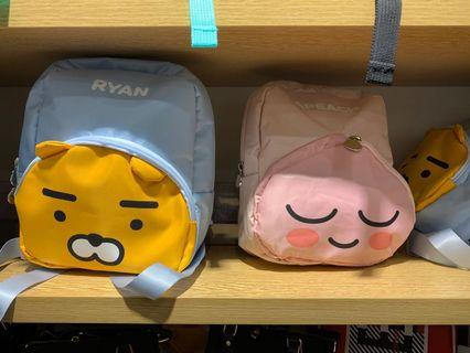 Sell Kakao Friends 細路仔背包 有 Ryan and Peach