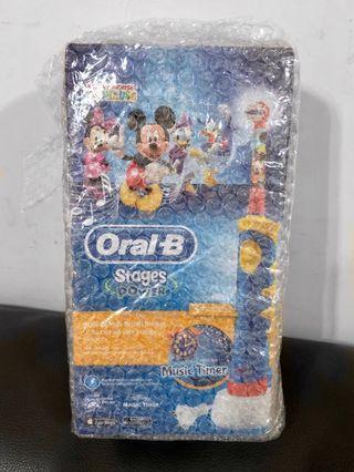 Oral B * Braun 迪士尼 兒童電動牙刷 無線全頭轉動