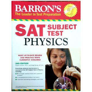 Barron's Study Guide for the Physics SAT subject test