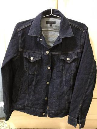 Uniqlo Denim Jacket Blue - Size L