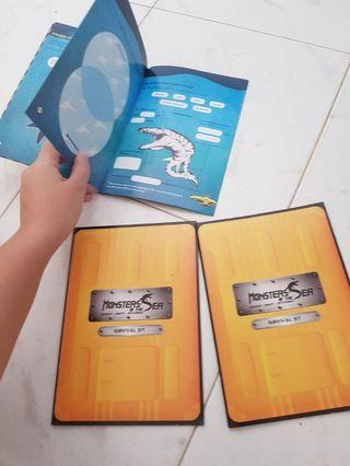 🚚 Monsters of The Sea Exercise Books