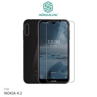 🚚 NILLKIN NOKIA 4.2 超清保護貼 超清防指紋保護貼 - 套裝版