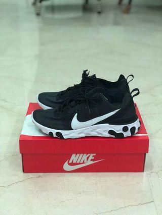 Us 8.5 Element React 55 Nike Black