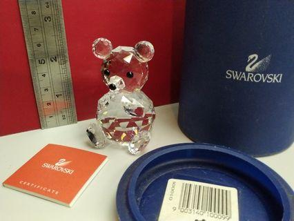 Swarovski Crystal Large Bear # 水晶大熊