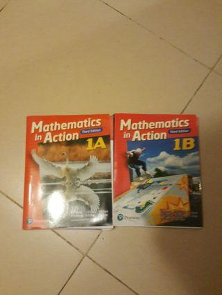 Mathematics in Action 1A 1B