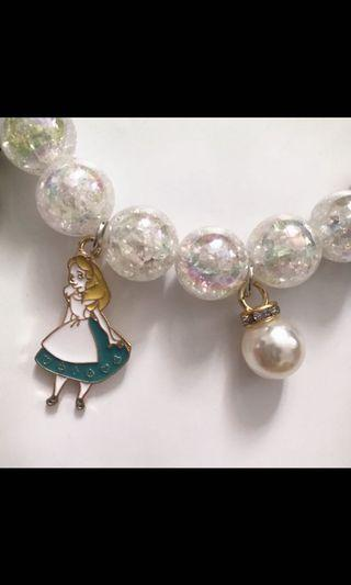 愛麗絲公主手鏈頸鏈首飾