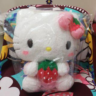 Hello Kitty - Mega Jumbo Strawberry Plushy 2019