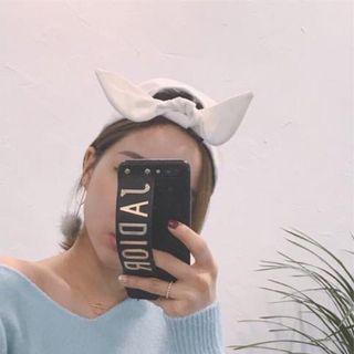 🚚 韓國連線 正韓現貨💛蝴蝶結後綁結棒球帽 頭圍可調整 韓製 卡其色 淺駝色 Miluku Kimy IDN 隋棠 許路兒